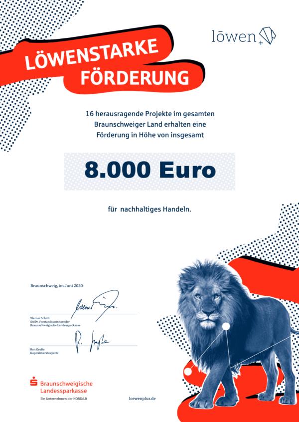 Löwen+ Fonds der BLSK fördern nachhaltige Projekte