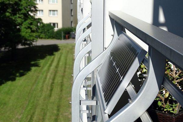 Minisolargerät: Strom vom Balkon